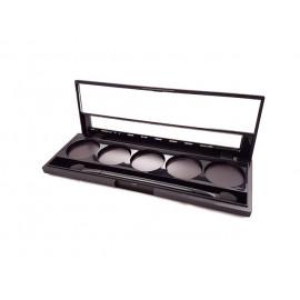 Box for 5 shades, empty, Unity Cosmetics