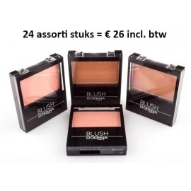 24 Blushers D'donna, assorted
