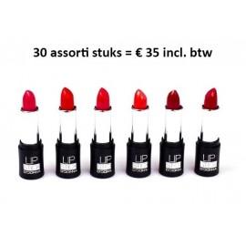 30 assorti lipsticks D'donna