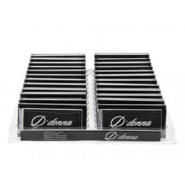Display Eyeshadow, Black, 24 pieces, D'donna