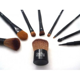 Brush set with 9 brushes, Unity Cosmetics
