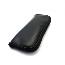 Black Zippered Brush Case